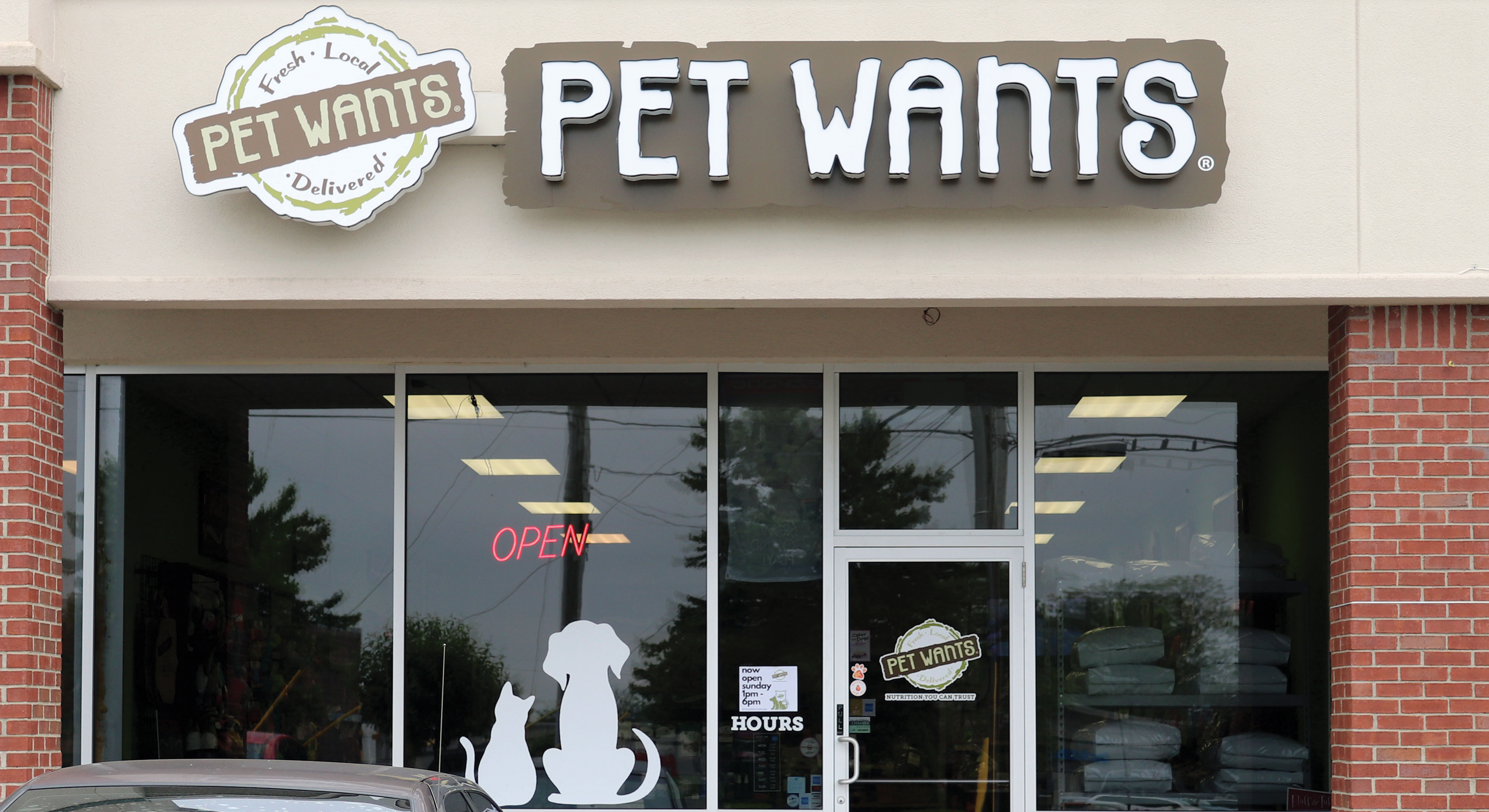 Pet Wants Store Front