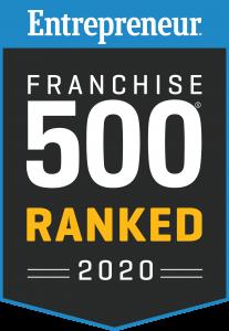 Entrepreneur Top 500 Badge 2020