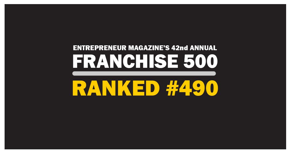 Franchise 500 2021 Ranking
