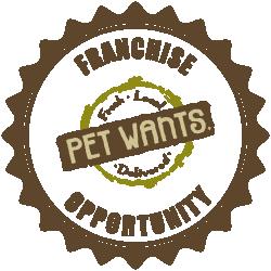 pet wants franchise opportunity