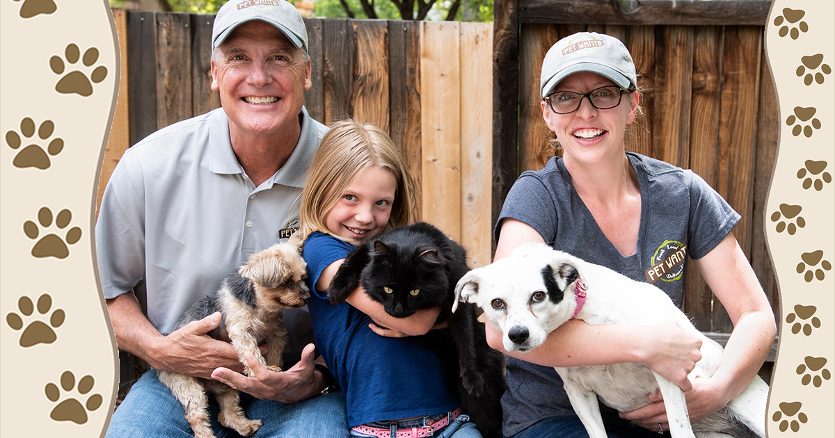 Brian and Bridget Nelson, owners of Pet Wants Sparks