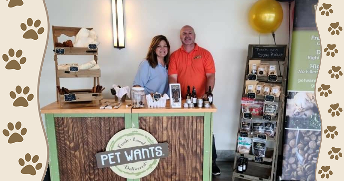 Scott and Gina Turner owners of Pet Wants Greater Kansas City